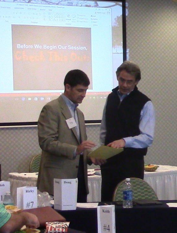 Doug Madenberg & Harold Lloyd Facilitating Food Industry Share Groups