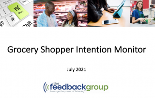 Grocery Shopper Intention Monitor